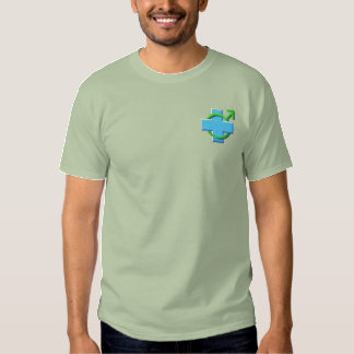 Male Nurse Embroidered T-Shirt