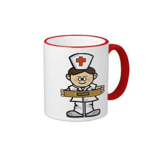 Male Nurse Mug   Customize It!