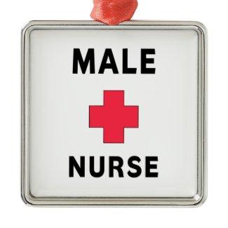 Male Nurse ornament
