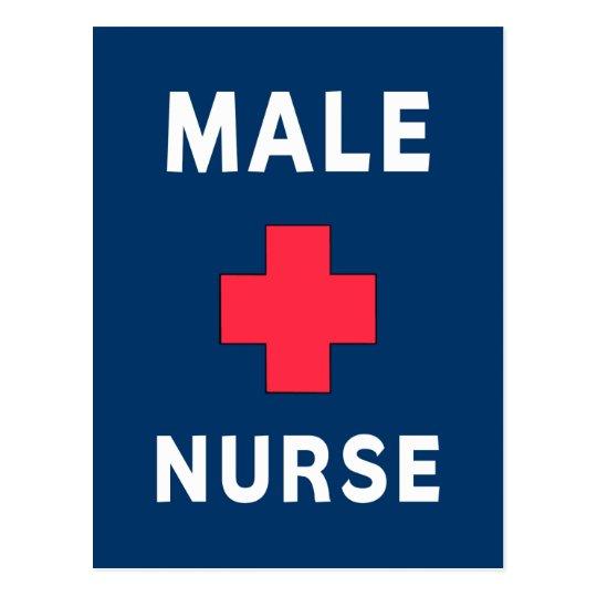 Male Nurse Postcard