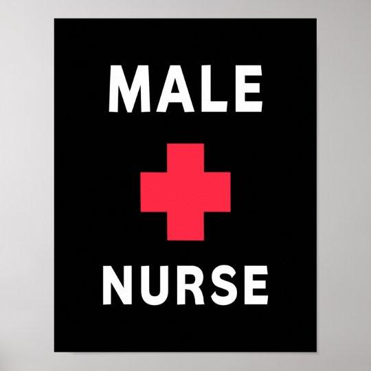 Male Nurse Poster