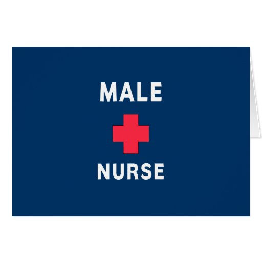 Male Nurse Stationery Note Card