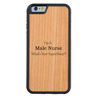 Male Nurse Carved® Cherry iPhone 6 Bumper Case