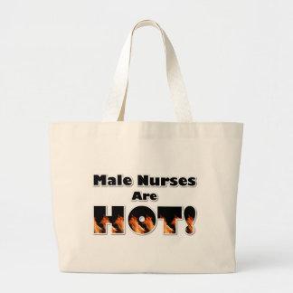 Male Nurses are Hot Large Tote Bag