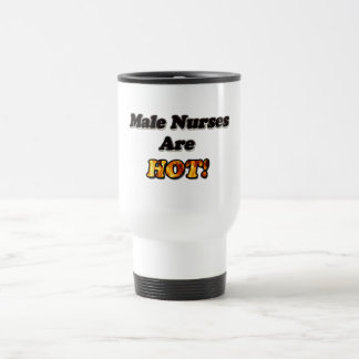 Male Nurses Are Hot Travel Mug