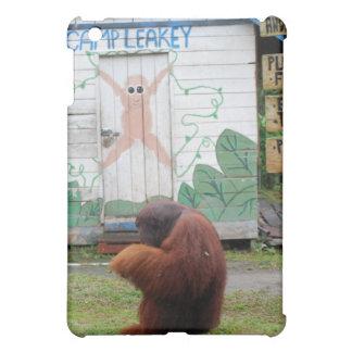 Male Orangutan King at Camp Leakey Borneo iPad Mini Cover
