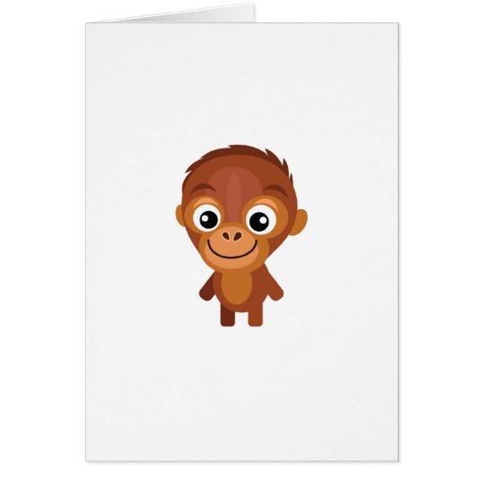 Male Orangutan - My Conservation Park Card