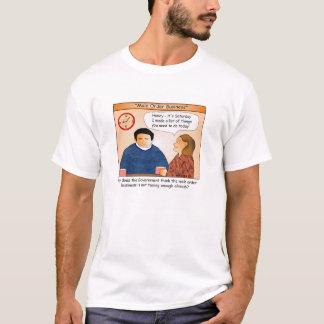 Male Order Business Cartoon T-shirt