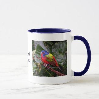 Male Painted Bunting Mug