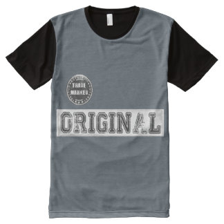 Male Panel T-Shirt with Cool Original Print
