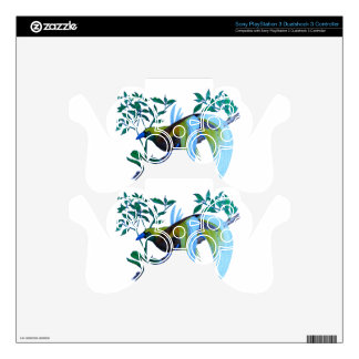 Male Paradise Bird PS3 Controller Decals