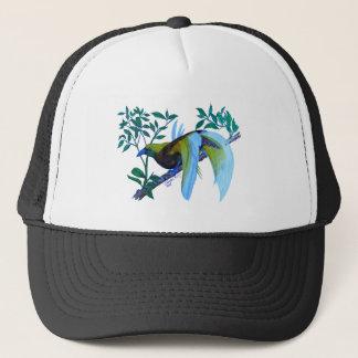 Male Paradise Bird Trucker Hat