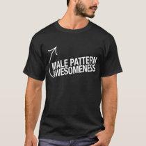 Male Pattern Awesomeness T-Shirt