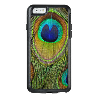 Male peacock tail feathers OtterBox iPhone 6/6s case