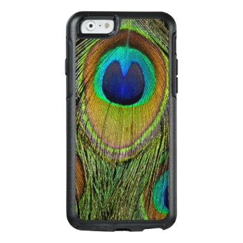 Male Peacock Tail Feathers Otterbox Iphone 6/6s Case by DanitaDelimont at Zazzle