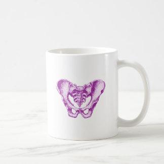 Male Pelvis Purple Coffee Mug