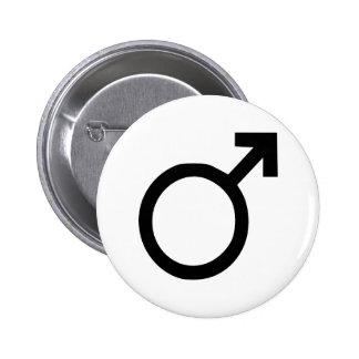 Male Pinback Button