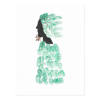 Male Pine Spirit Postcard