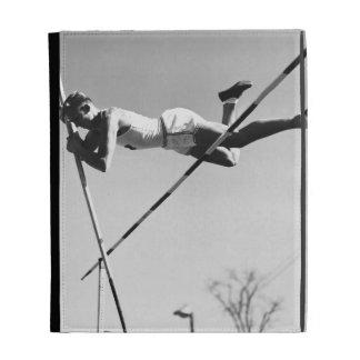 Male Pole Vaulter iPad Folio Cover