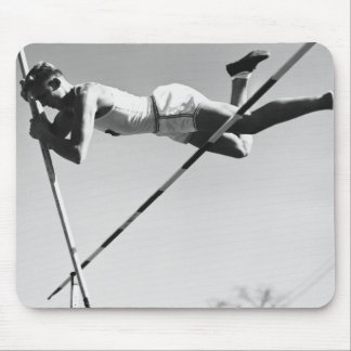 Male Pole Vaulter Mouse Pad