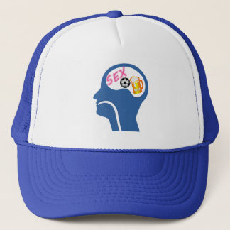 Male Psyche Trucker Hat