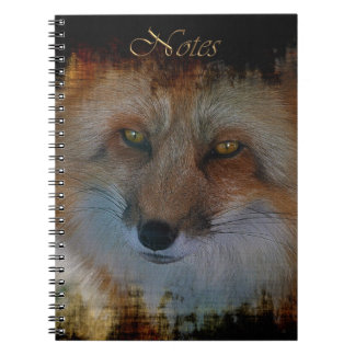 Male Red Fox Wildlife-supporter Notebook