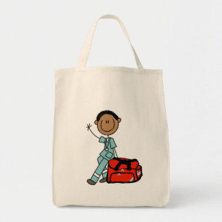 Male Respiratory Therapist or EMT Bag