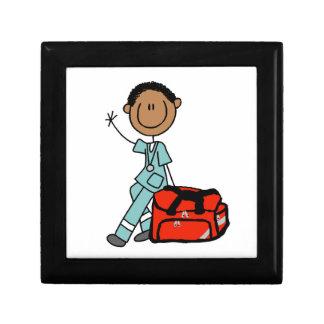 Male Respiratory Therapist or EMT Keepsake Box
