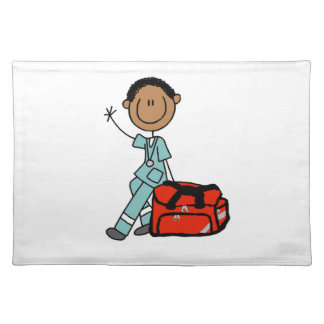 Male Respiratory Therapist or EMT Placemat