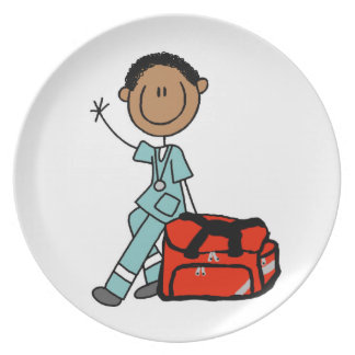 Male Respiratory Therapist or EMT Plates