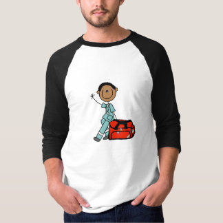 Male Respiratory Therapist or EMT T-Shirt
