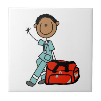 Male Respiratory Therapist or EMT Tile