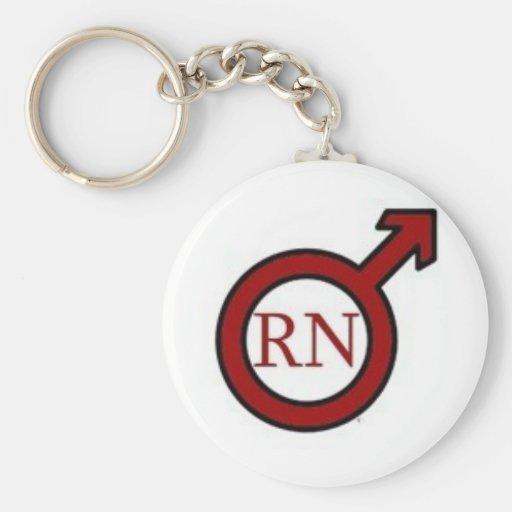 Male RN Keychain