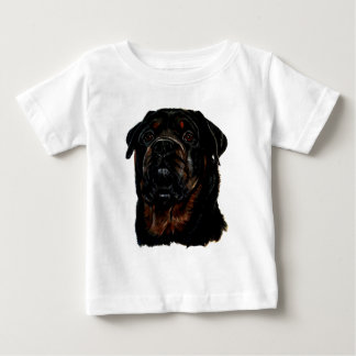 Male Rottweiler Baby T-Shirt