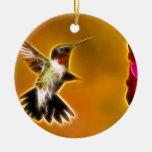 Male Ruby-throated Hummingbird Ornament