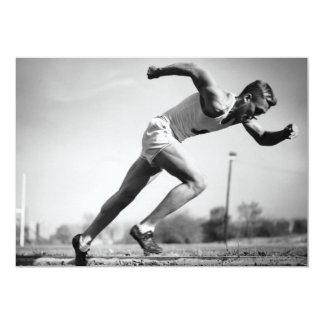 Male Runner Card