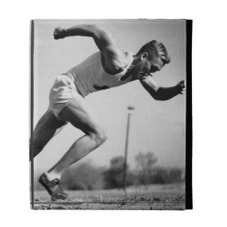 Male Runner iPad Folio Covers