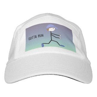 Male Runner, Gotta Run Headsweats Hat