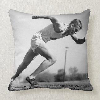 Male Runner Pillow