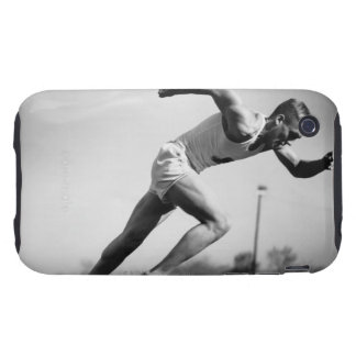 Male Runner Tough iPhone 3 Cover