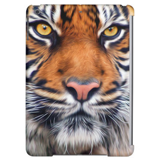 Male Siberian Tiger Paint Photograph iPad Air Cases