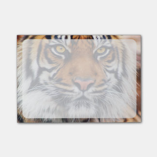 Male Siberian Tiger Paint Photograph Post-it® Notes