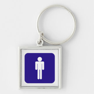 Male Sign Keychain
