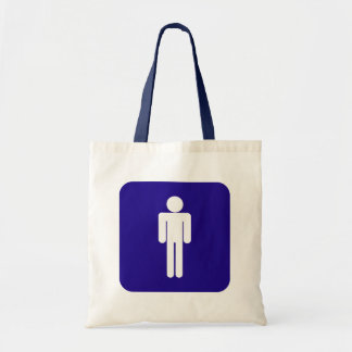 Male Sign Tote Bag