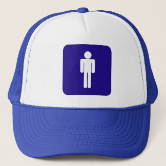 Male Sign Trucker Hat