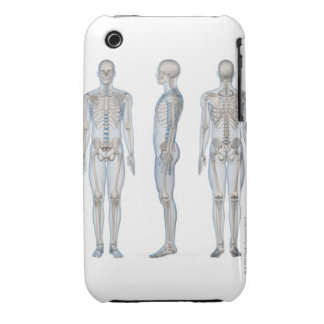 Male Skeleton 2 iPhone 3 Case-Mate Cases