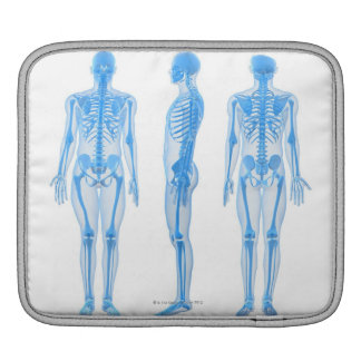 Male Skeleton Sleeve For iPads