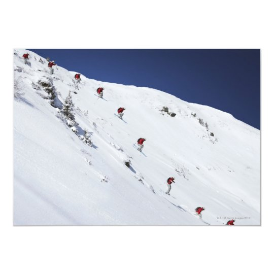 Male Skier Card