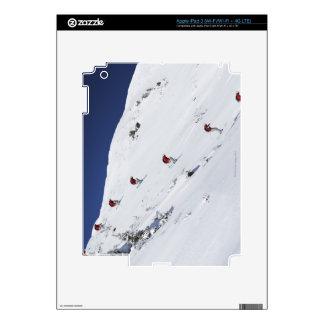 Male Skier iPad 3 Skin