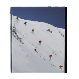 Male Skier iPad Folio Cases